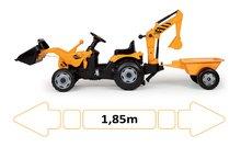 033389 d smoby traktor