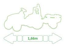 Otroška vozila na pedala - 033406 c smoby traktor