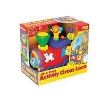 Hračky zvukové - Cirkusová lokomotiva Activity Circus Loco Kiddieland se zvukem a světlem od 12 měsíců_1
