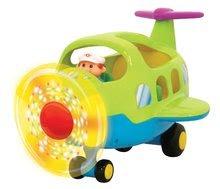 Hračky zvukové - Letadélko Activity Kiddieland se zvukem a světlem od 18 měsíců_1