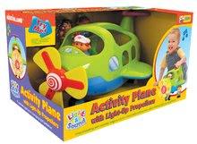 Hračky zvukové - Letadélko Activity Kiddieland se zvukem a světlem od 18 měsíců_3