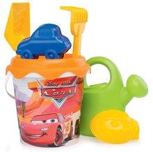 Skluzavky pro děti - Set skluzavka Toboggan KS Smoby 150 cm s vodou a kbelík set do písku Auta od 24 měsíců_4