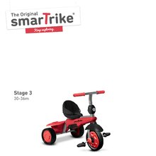 Trojkolky od 10 mesiacov - Trojkolka Carnival Red Touch Steering smarTrike 3v1 červeno-šedá od 10 mes_3