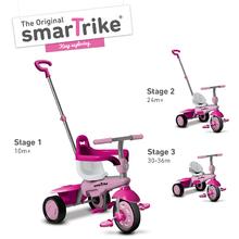 smarTrike 6091200 ružovo-fialová trojkolka Breeze Touch Steering od 10 mesiacov