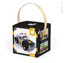 Janod 02767 2 x Lovely Puzzle Borisove policajné auto 24-36 dielov od 3 rokov
