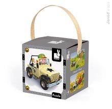 Janod 02765 2 x Lovely Puzzle Jankove 4x4 auto 24-36 dielov od 3 rokov
