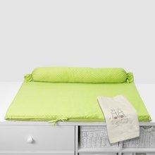Prebaľovacia podložka Joy toTs-smarTrike s 2 obliečkami zajačik 100% satén bavlna zelená