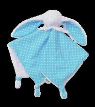 Zajačik na maznanie Joy toTs-smarTrike 100% jersey bavlna pre najmenších modrý