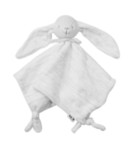 Zajačik na maznanie Classic Melange toTs-smarTrike 100% jersey bavlna pre najmenších biely