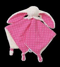 Zajačik na maznanie Joy toTs-smarTrike 100% jersey bavlna pre najmenších ružový