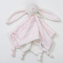 Zajačik na maznanie Classic Melange toTs-smarTrike 100% jersey bavlna pre najmenších ružový