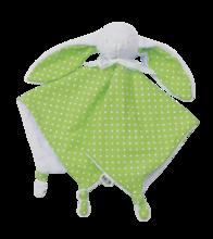 Zajačik na maznanie Joy toTs-smarTrike 100% jersey bavlna pre najmenších zelený