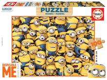 EDUCA 16528 drevené puzzle MINIONS 100 dielikov