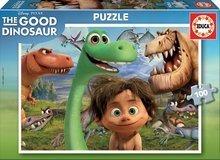 Detské puzzle od 100-300 dielov - Puzzle Dobrý dinosaurus Educa 100 dielov od 5 rokov_2
