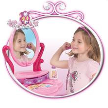 Kozmetické stolíky sety - Set kozmetický stolík Disney Princezné 2v1 Smoby so stoličkou a servírovací vozík s raňajkovou súpravou_15