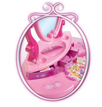 Kozmetické stolíky sety - Set kozmetický stolík Disney Princezné 2v1 Smoby so stoličkou a servírovací vozík s raňajkovou súpravou_11