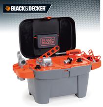 Staré položky - Pracovná dielňa Black+Decker Tooly 2v1 Smoby v kufríku s 18 doplnkami_1