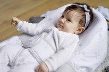 Hračky pre bábätká - Hniezdo na spanie Cocoonababy® pre bábätká Dreamy Cloud Red Castle 0-4 mesiacov s doplnkami s obláčikmi_5