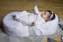 Hračky pre bábätká - Hniezdo na spanie Cocoonababy® pre bábätká Dreamy Cloud Red Castle 0-4 mesiacov s doplnkami s obláčikmi_6