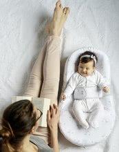 Hračky pre bábätká - Hniezdo na spanie Cocoonababy® pre bábätká Dreamy Cloud Red Castle 0-4 mesiacov s doplnkami s obláčikmi_9