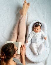Hračky pre bábätká - Hniezdo na spanie Cocoonababy® pre bábätká Red Castle Happy Fox 0-4 mesiacov s veselou líškou (s doplnkami)_1