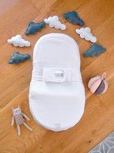 Hračky pre bábätká - Hniezdo na spanie Cocoonababy® pre bábätká Red Castle Cotton Bubbles 0-4 mesiacov biele z bavlny (s doplnkami)_1