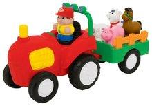Hračky zvukové - Traktor Activity Kiddieland so zvieratkami a zvukom od 12 mes_0