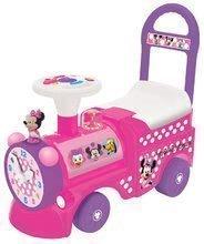 Odrážadlá so zvukom - Elektronické odrážadlo Disney Kiddieland lokomotíva Minnie so svetlom a zvukom ružové od 12 mes_1