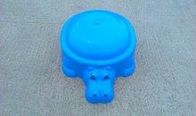 Dětské pískoviště Hroch Starplast s krytem objem 80 litrů od 2 let modré