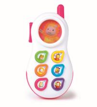 Staré položky - Telefón Cotoons Smoby so zvukmi ružový od 6 mes_3