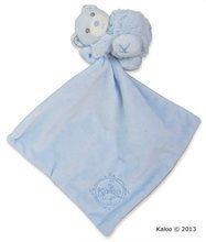 Kaloo plyšový medvedík Perle-Hug Doudou 962159 modrý