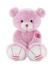 Plyšový medveď Rouge Kaloo Medium 31 cm z jemného plyšu pre najmenšie deti ružovo-krémový