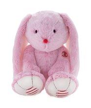 Plyšový zajac Rouge Kaloo Large 38 cm z jemného plyšu pre najmenšie deti ružovo-krémový