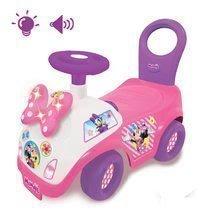 Babytaxiu Disney Minnie Kiddieland roz-mov cu fundiţă de la 12 luni