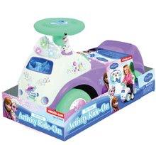 Odrážadlá so zvukom - Elektronické odrážadlo Disney Frozen so svetlom a hudbou Kiddieland fialové od 12 mes_1