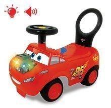 Odrážedlo s motorem Cars McQueen Disney Kiddieland elektronické se zvukem a světlem červené od 12 měsíců