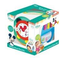 Interaktívna kocka Mickey Mouse Kiddieland so zvukmi a svetlom pre deti od 12 mesiacov