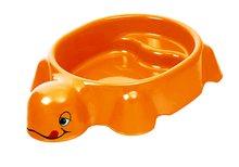 Pieskovisko pre deti Korytnačka Starplast objem 79 litrov od 2 rokov oranžové