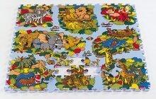 Puzzle din burete Animal Land Lumea animalelor Lee Chyun 81 bucăţi de la 0 luni