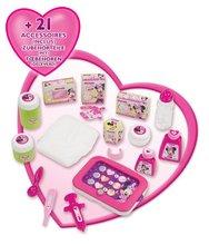 Staré položky - Opatrovateľský kútik pre bábiku Minnie Smoby elektronický s tabletom, 32 cm bábikou a 22 doplnkami_1