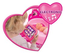 Staré položky - Opatrovateľský kútik pre bábiku Minnie Smoby elektronický s tabletom, 32 cm bábikou a 22 doplnkami_0