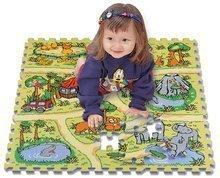 Habszivacs puzzle Safari állatok Lee 81 db