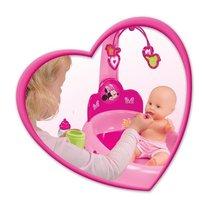 Staré položky - Opatrovateľský kútik pre bábiku Minnie Smoby elektronický s tabletom, 32 cm bábikou a 22 doplnkami_2