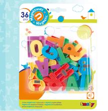 Magnetky pre deti - Magnetky Smoby veľké písmená 36 kusov_0