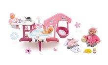 Set opatrovateľské centrum pre bábiku Baby Nurse Smoby a bábika so šatôčkami 32 cm