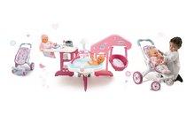 SMOBY 24018-7 babaház Baby Nurse és sport babakocsi bolygókerekekkel