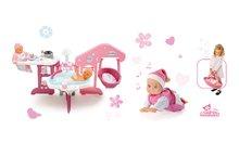 Domčeky pre bábiky sety - Set opatrovateľské centrum pre bábiku Baby Nurse Smoby a bábika so zvukom MiniKiss 27 cm_16