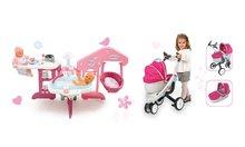Domčeky pre bábiky sety - Set opatrovateľské centrum pre bábiku Baby Nurse Smoby a kočík pre bábiku Maxi Cosi & Quinny 3v1 (70 cm rúčka)_20