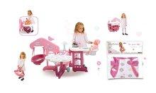Set pečovatelské centrum pro panenku Baby Nurse Smoby a nosítko pro panenku 42 cm