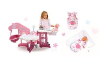 Domčeky pre bábiky sety - Set opatrovateľské centrum pre bábiku Baby Nurse Smoby a nočný úbor pre bábiku 42 cm_11